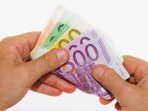 Compte de l'argent photos libres de droits
