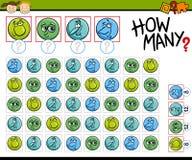 Compte de l'illustration de bande dessinée de jeu Image stock