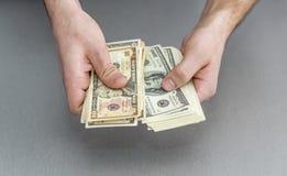 Compte de la grande pile d'ordres de paiement photo libre de droits