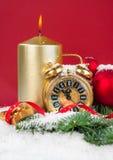 Compte de nouvelle année vers le bas Image libre de droits