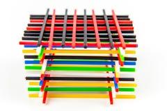 Compte des bâtons Image stock