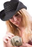 Compte des dollars Image libre de droits