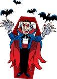 Compte Dracula. Halloween Photos libres de droits