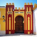 Comptes de l'entrée de palais de Cabra photo libre de droits