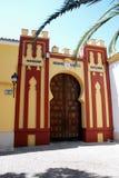 Comptes de l'entrée de palais de Cabra images libres de droits