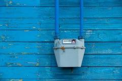 Compteur à gaz Photo libre de droits