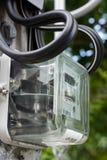 Compteur d'électricité Photo stock
