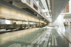 Compteur d'aéroport image libre de droits