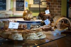 Compteur de boulangerie photo libre de droits