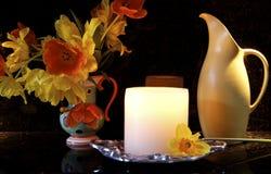 Compteur de cuisine décoratif Photos stock
