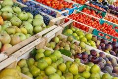 Compteur de fruit image libre de droits