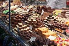 Compteur des bonbons photographie stock