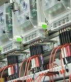 Compteurs d'électricité Photographie stock libre de droits