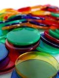 Compteurs de Colourfull Image stock