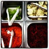 Comptoir à salades image libre de droits