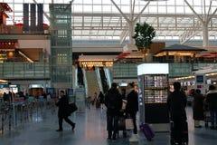 Comptoir d'enregistrement d'aéroport de Haneda Image libre de droits