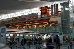 Comptoir d'enregistrement d'aéroport de Haneda Photographie stock