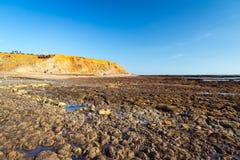Compton Bay Isle Of Wight imagem de stock