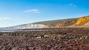 Compton Bay Isle Of Wight fotos de stock royalty free