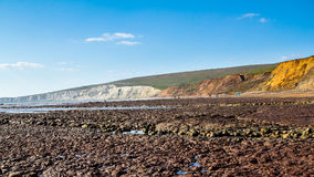 Compton Bay Isle Of Wight Royalty Free Stock Photos