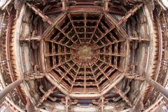 Compuerta flotante de un templo Foto de archivo