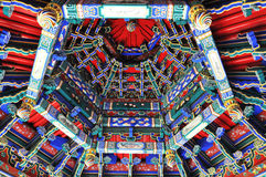 Compuerta flotante del edificio de China Fotos de archivo libres de regalías