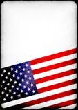 Compuesto texturizado de la bandera americana ilustración del vector