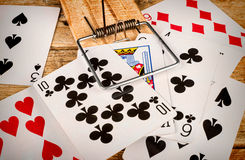 Compulsive gambling Royalty Free Stock Photos