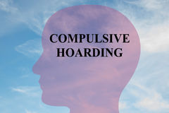 Compulsive Hoarding - mental concept Royalty Free Stock Images