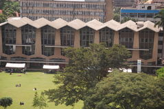 Compund de la universidad de Nairobi (Kenia) Imagen de archivo