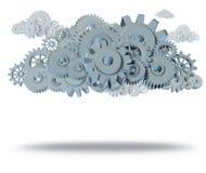 Computação da nuvem Imagens de Stock Royalty Free