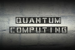 Computação de quantum GR Imagem de Stock