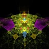 Computação gráfica: Gemas mágicas ilustração do vetor