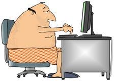 Computação ocasional Fotografia de Stock