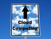 Computación de la nube imagen de archivo libre de regalías