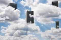 Computación de la nube foto de archivo libre de regalías
