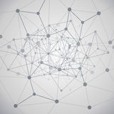 Computación de la nube y concepto de las redes Fotografía de archivo