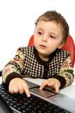 Computación del bebé imágenes de archivo libres de regalías