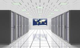 Computación global imagen de archivo