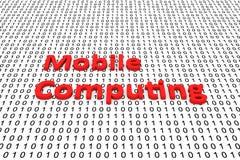Computación móvil Foto de archivo libre de regalías