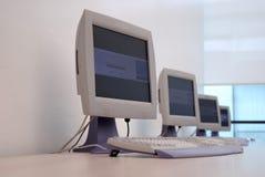 Computador foto de stock