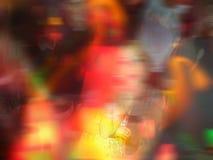 Computador colorido foto editada de um clube nocturno ilustração stock