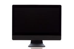 Computador completo de Monoblock Disparado da parte dianteira Imagem de Stock Royalty Free