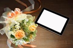 Computador da tabuleta Imagem de Stock Royalty Free