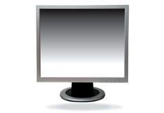 Computador da tela lisa Imagem de Stock Royalty Free