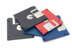 Computador de disco flexível Imagens de Stock Royalty Free