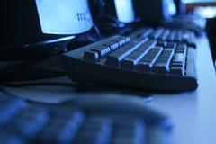 Computador de negócio Foto de Stock