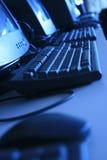 Computador de negócio Fotografia de Stock Royalty Free