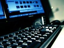 Computador de secretária Fotografia de Stock Royalty Free