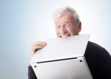 Computador do ódio Fotografia de Stock